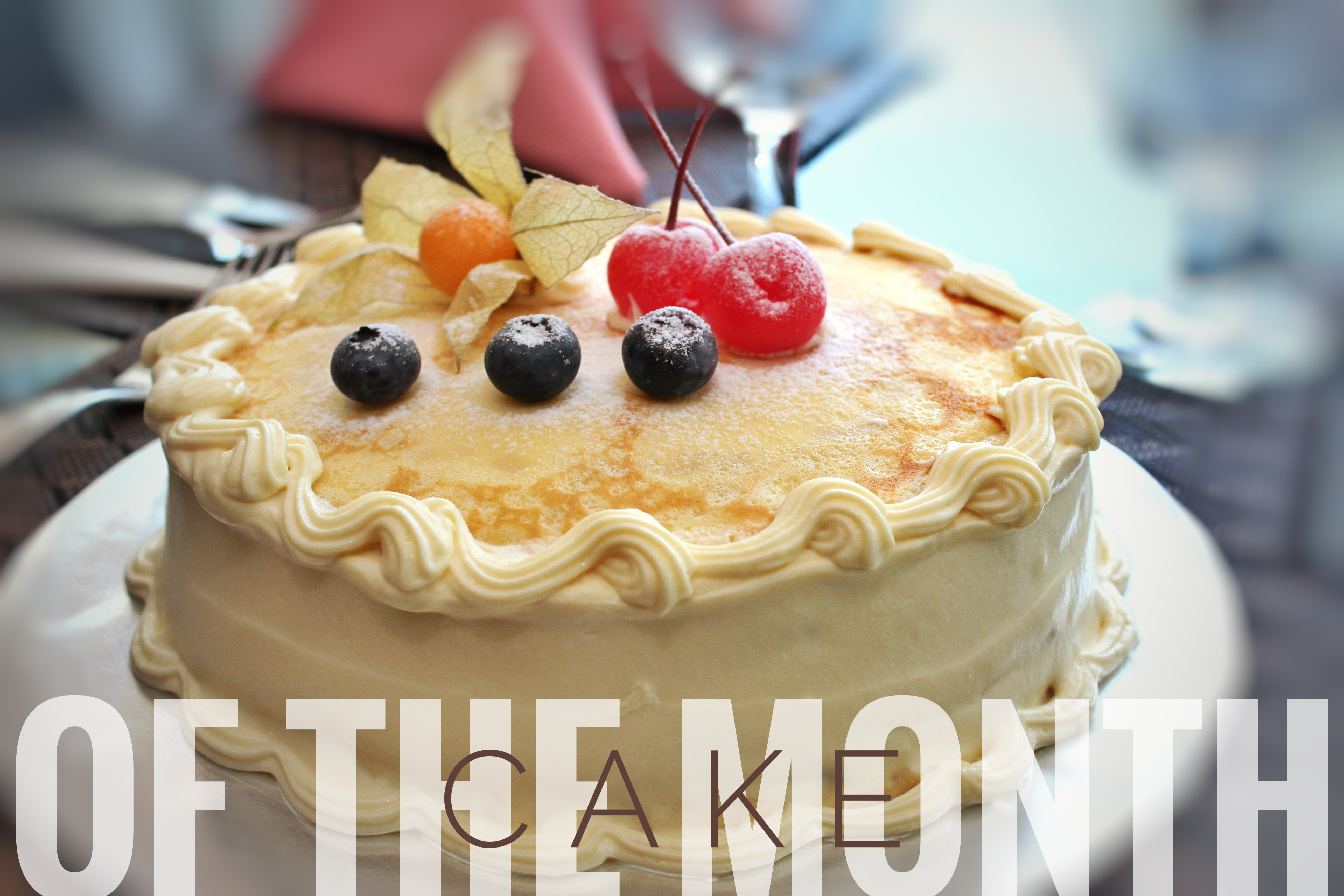 Cake of the Month